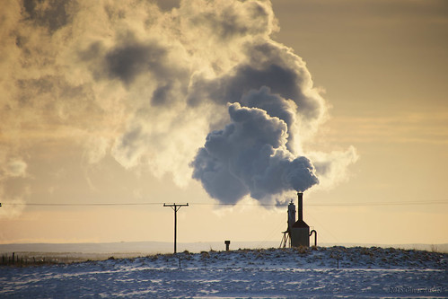 winter sunset iceland power steam heat oru petergabriel 2015 geothermalenergy efrireykir