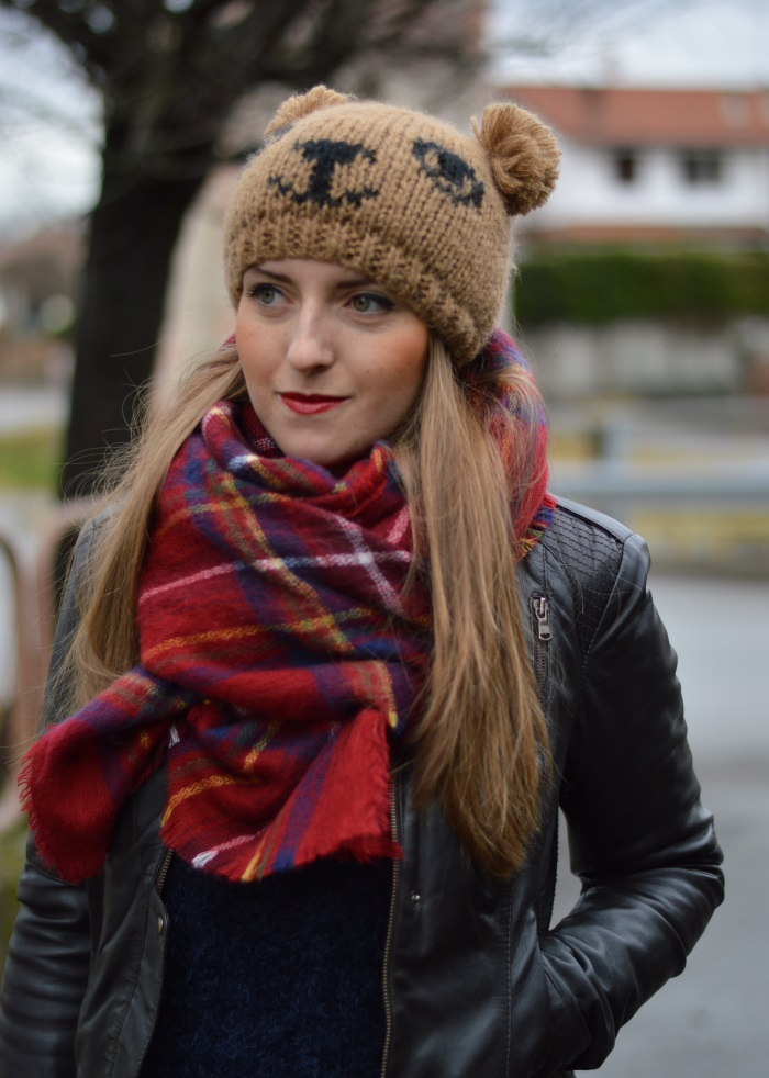 beanie orsacchiotto, Benetton, Tally Weijl, Conbipel, Zara, wildflower girl, fashion blog (8)