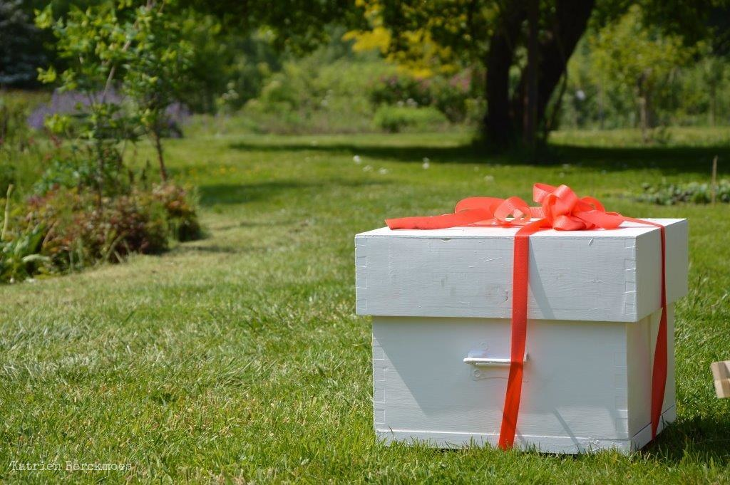Photo:A new beehive for a friend By:katrienberckmoes