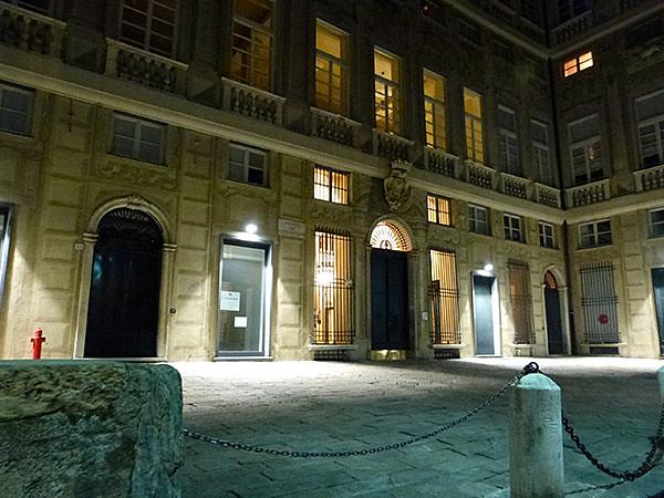 entrée du palais Giustiniani