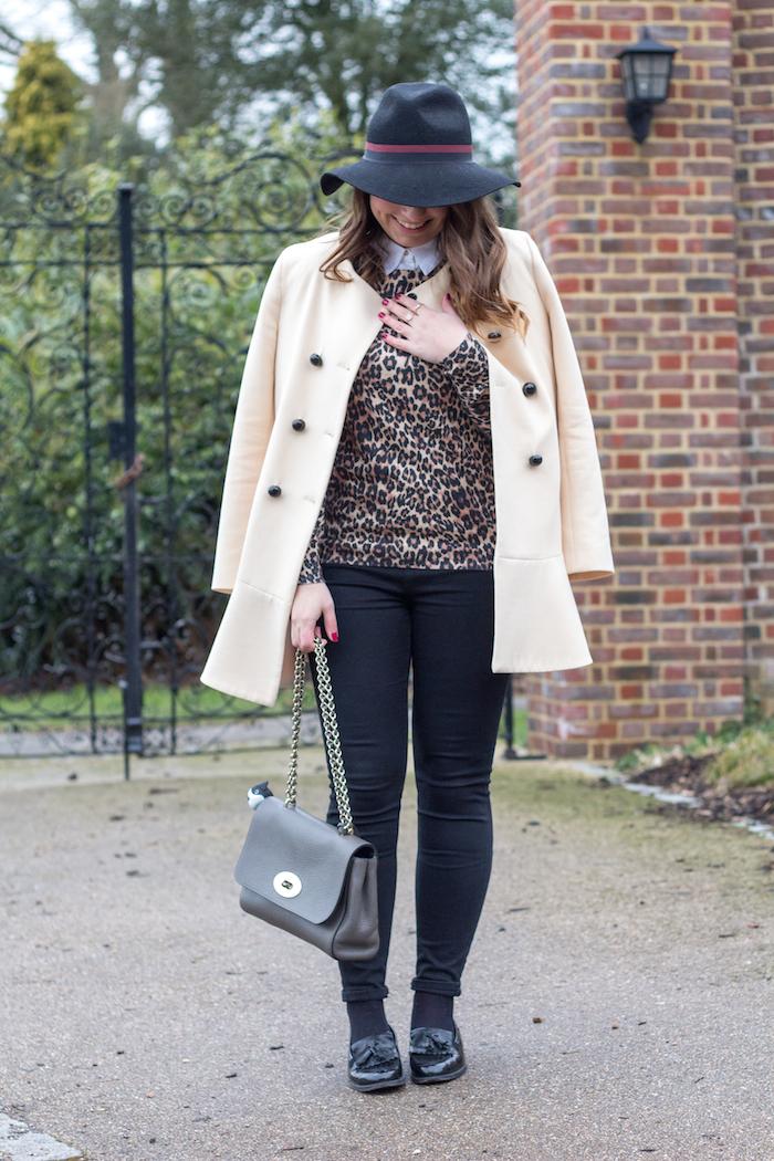 Ellie maydoll blush leopard