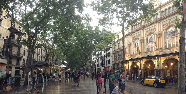 Barcelona with Kids: Las Ramblas | Family Travel