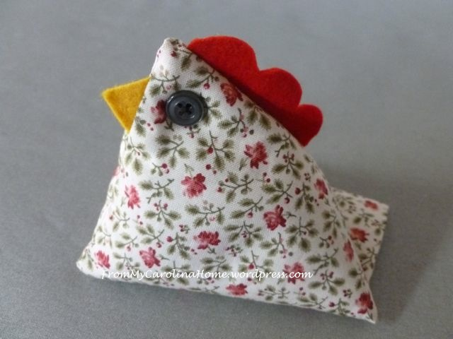 Chicken Pincushion - 12