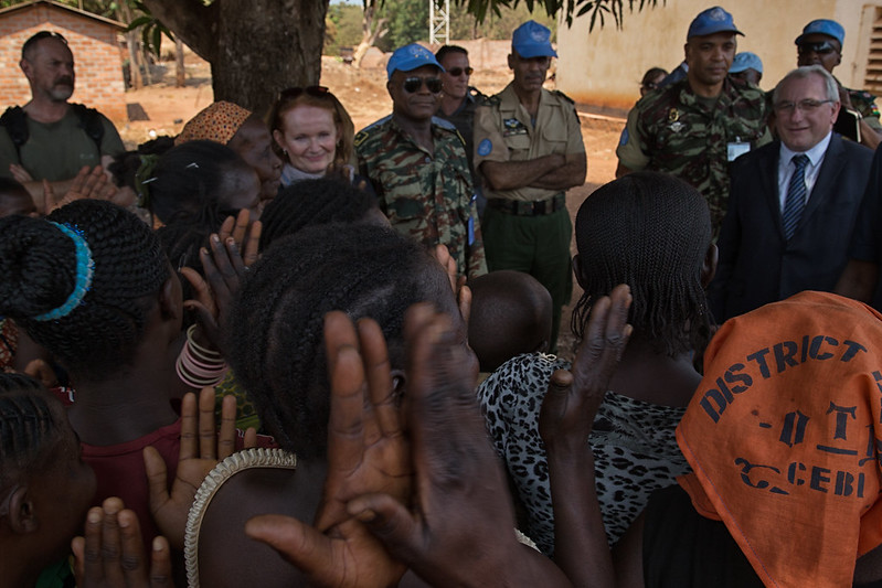 Maintien de la paix dans le monde - Les FAR en République Centrafricaine - RCA (MINUSCA) - Page 2 16518324512_d8ec2e3b4f_c
