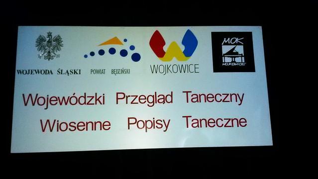 """Wojewódzki Przegląd Taneczny """"Wiosenne Popisy Taneczne"""" Wojkowice 2016"""