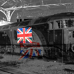Class 47580 (County of Essex) Union Jack Flag 27.01.2014Buisness is Great Union Jack Flag  Pendolino at Preston 23.11.2015.jpg Retro Buisness is Great Uk Shot