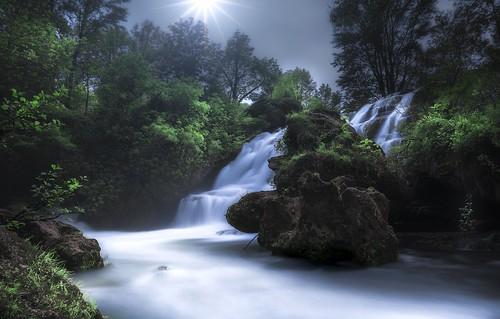 Cascade de Navacelles (France)