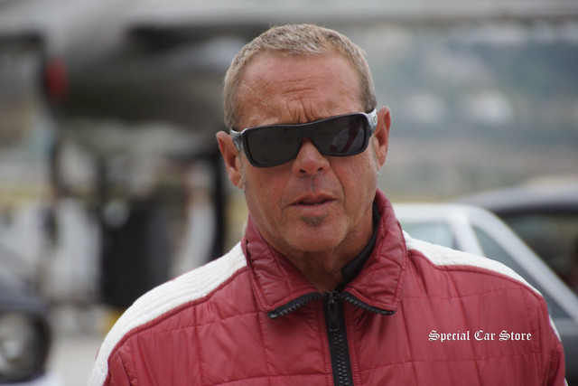 Chad Mcqueen at The Steve McQueen Rally, with proceeds supporting Boys Republic