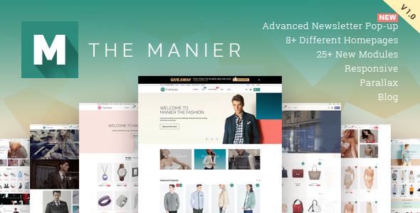 TheManier v1.2.1 – Premium Multi-Purpose PrestaShop v1.6.1.x Theme