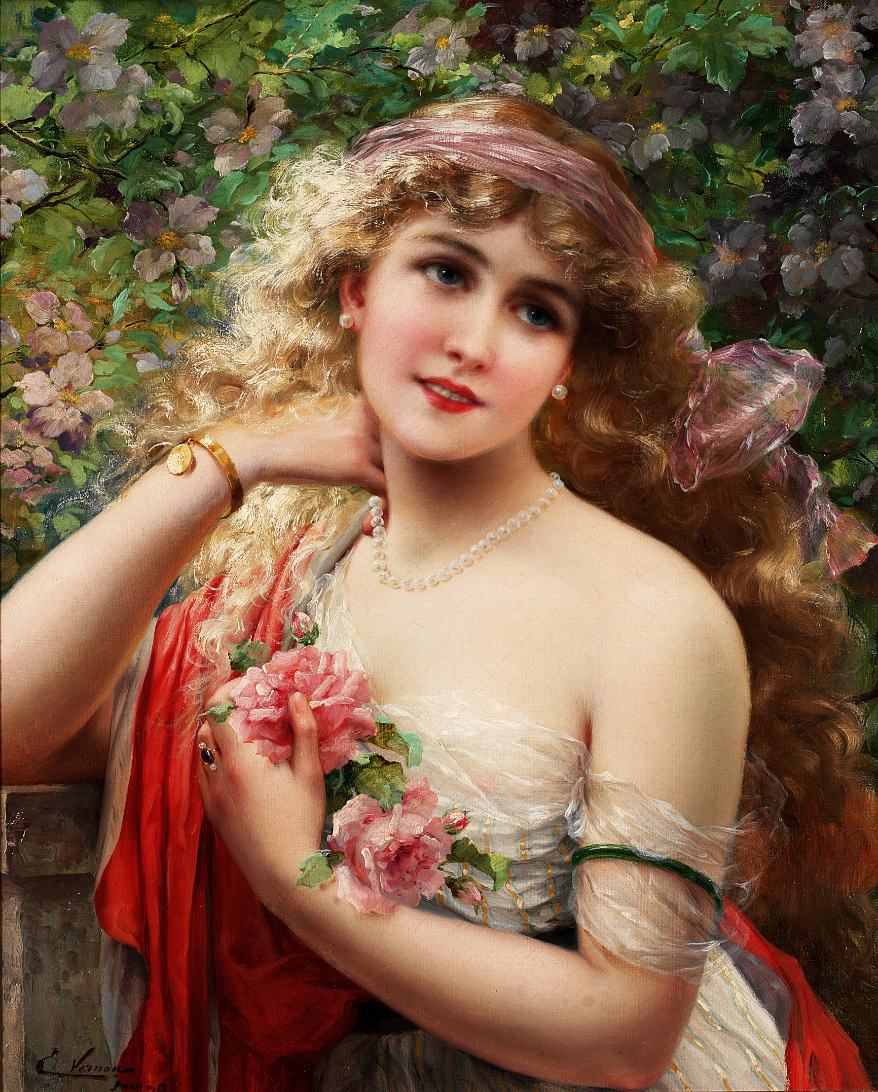 Spring by Emile Vernon, 1913