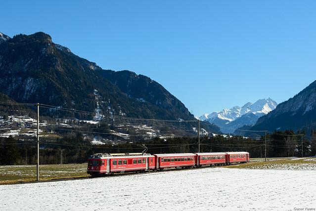 S-Bahn Thusis-Chur bei Cazis