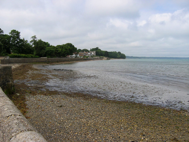 VIew west from Ryde Pier