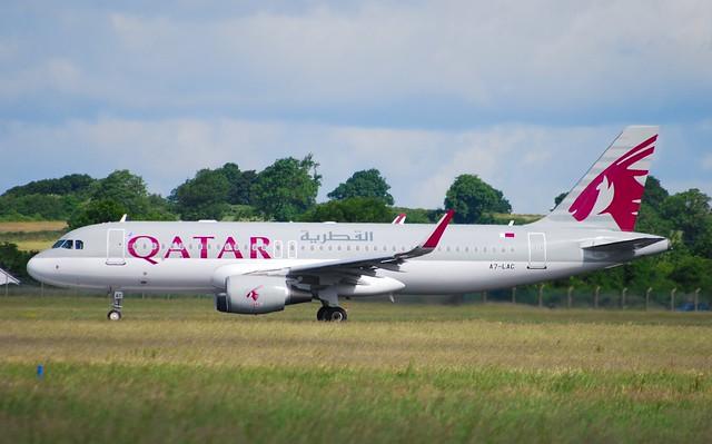 A7-LAC A320 Qatar A/W
