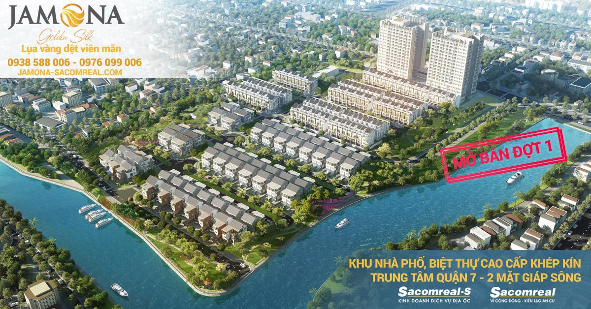 Dự án Jamona Golden Silk quận 7 mở bán đợt 1.