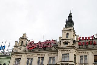 Изображение Вацлавская площадь вблизи Staré Město. prague praha wenceslassquare václavskénáměstí budweiser