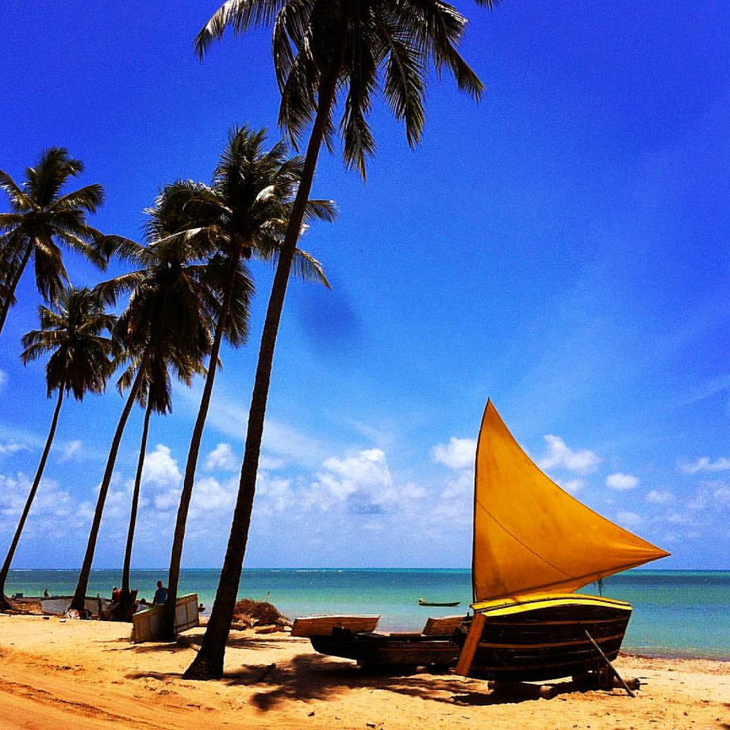 Um paraíso essa praia