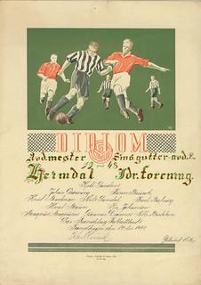 Heimdal Idrettsforening - Avdelingsmester i klassen for smågutter 2. avd. (1948)