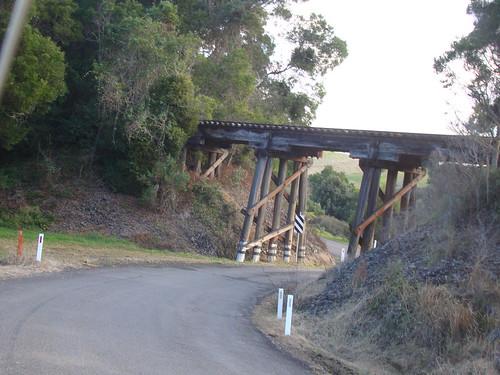 Rail Bridge over Coramba Rd