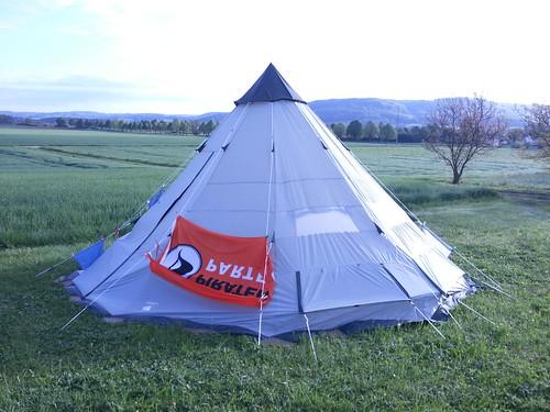 Ist bei den Nachbarn Gefahr im Zelt?