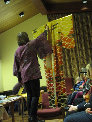 Birmingham Embroiderers' Guild Opening The Kimono April 2013 (7)