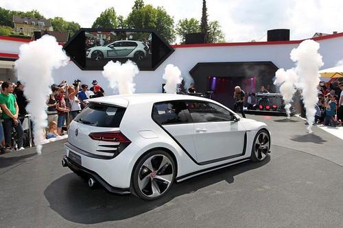 Volkswagen Golf Design Vision GTI concept