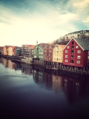 Flat Stanley goes to Trondheim and Røros in mid-Norway