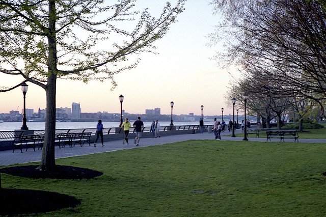 Evening Jog along the Hudson