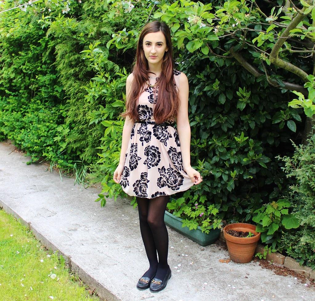Floral Dress OOTD 7