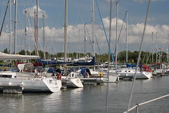 Pontoon Mooring at Fambridge Yacht Haven