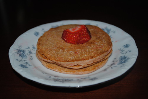 strawberry lime pancakes