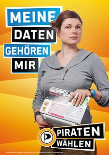 Ein Wahlplakat aus Bayern.