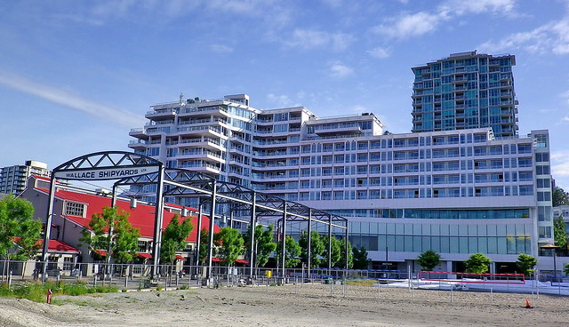 nvan13f05 New Condos & Hotel, North Vancouver Waterfront