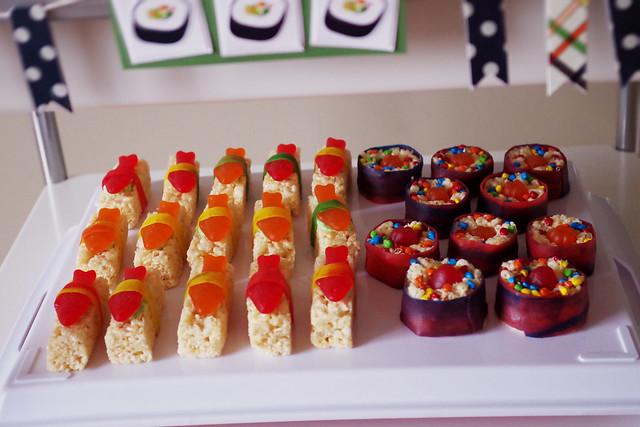 eva's sushi party