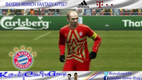 Bayern Munich Fantasy Kit by #CandraGame