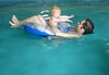 Week 4 - movement_E swimming with Daddy