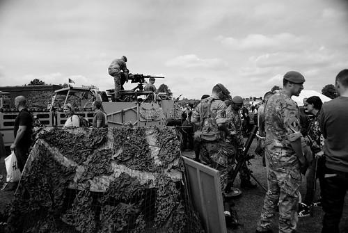 Mercian Regiment - Armed Forces Day Nottingham 2013