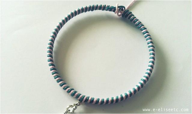 diy kate spade inspired bracelet 7