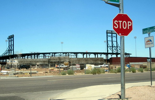 Cubs Stadium Mesa - Evergreen St