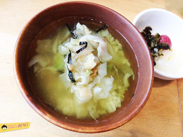 SUZUYA - TONKATSU CYAZUKE - in tea with cabbage - akibaichi