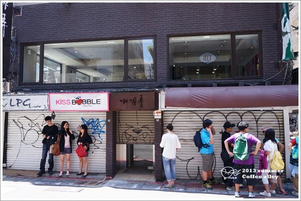 【食】東區。咖啡弄coffee alley 紅到香港銅鑼灣的人氣排隊店 冰水果茶和三明治值得一嘗 @ 尼克的雜學隨筆 和栗子奶茶一起出發 :: 痞客邦