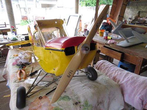 Repaginação de um Piper J-3 para um Neiva P56 C Paulistinha  9477767611_91af2f765a