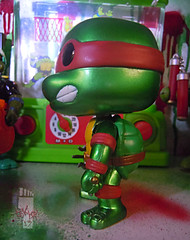 "FUNKO 'POP TELEVISION' :: TEENAGE MUTANT NINJA TURTLES - ""RAPHAEL"" #61 ;  Limited SDCC Exclusive Vynil Figure v (( 2012 ))"