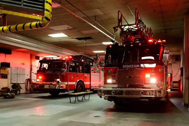 237 365 inside firehouse 16 l 39 int rieur de caserne 16 for Inside l interieur
