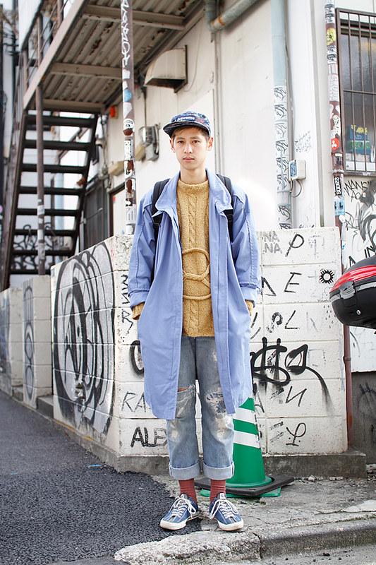 Drop Tokyo Street Style - Area- Harajuku,Tokyo | 原宿,東京 Name- 山口裕二