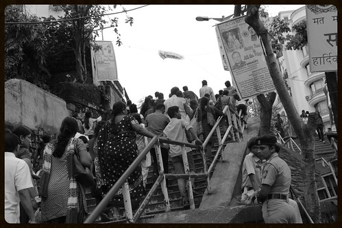 Famous  Mount Mary Steps  Shot By Marziya Shakir 4 Year Old by firoze shakir photographerno1