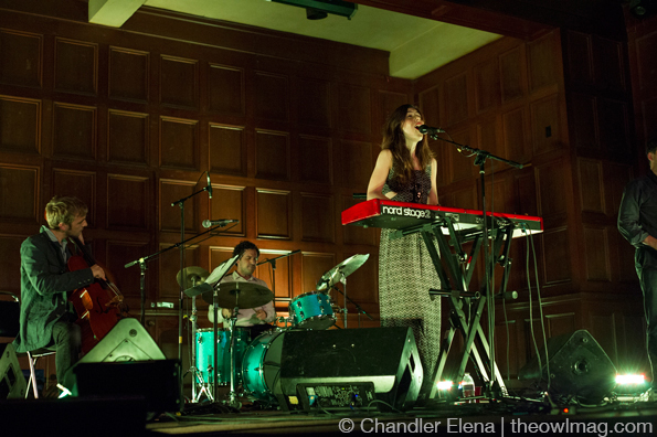 Julia Holter @ First Unitarian Church, LA 9/11/2013
