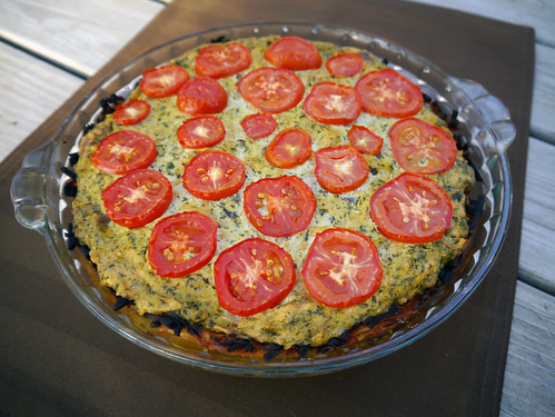 Q is for Quiche (with a Hash Brown Crust!) (0001)