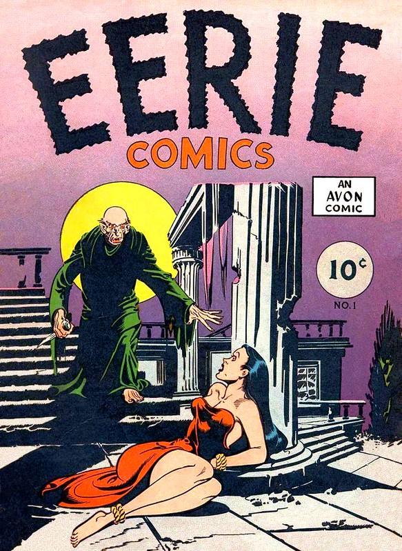 avon comics horror comic eerie 1