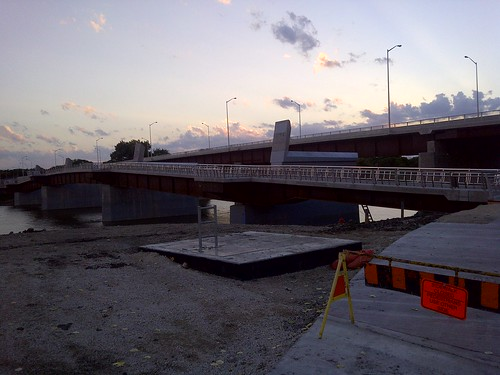 Walkway under construction