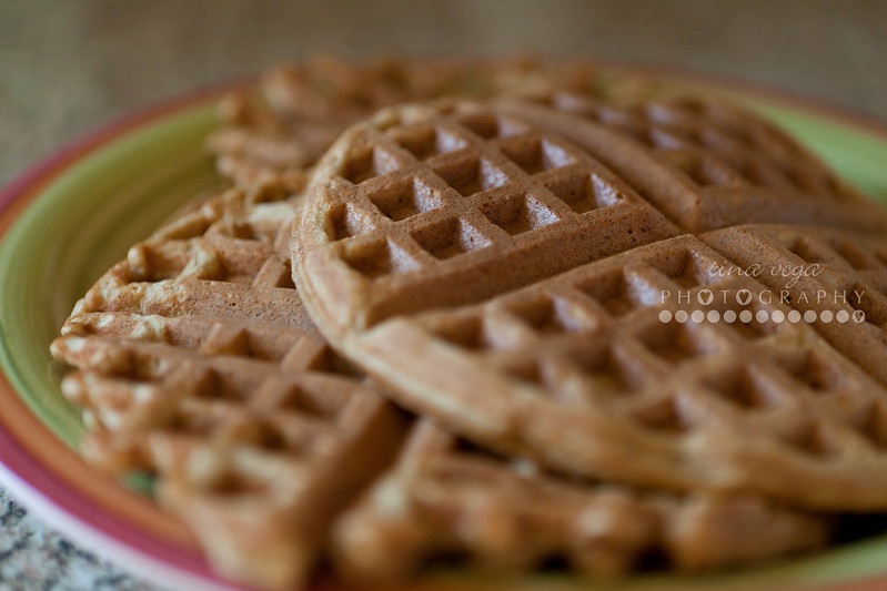 gingerbread waffles // © Tina Vega Photography